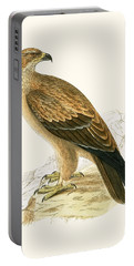 Tawny Eagle Portable Battery Charger by English School