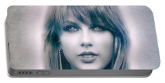 Taylor Swift - Beautiful Portable Battery Charger by Robert Radmore