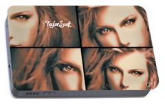 Taylor Swift - Parallels Portable Battery Charger by Robert Radmore