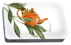 Tea Frog Portable Battery Charger by Amy Kirkpatrick