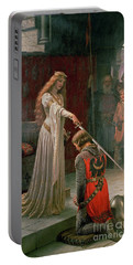 The Accolade Portable Battery Charger by Edmund Blair Leighton