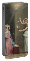 The Annunciation Portable Battery Charger by Auguste Pichon