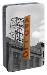 The Apollo In Harlem Portable Battery Charger by Danny Thomas