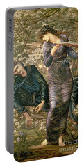 The Beguiling Of Merlin Portable Battery Charger by Sir Edward Burne-Jones