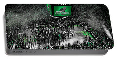 The Boston Celtics 2008 Nba Finals Portable Battery Charger by Brian Reaves