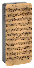 The Brandenburger Concertos Portable Battery Charger by Johann Sebastian Bach