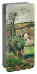 The Cabbage Slopes Portable Battery Charger by Camille Pissarro