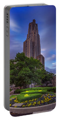 The Cathedral Of Learning Portable Battery Charger by Rick Berk