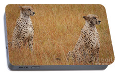 The Cheetahs Portable Battery Charger by Nichola Denny