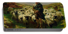 The Highland Shepherd Portable Battery Charger by Rosa Bonheur
