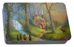 The House Of Tom Bombadil.  Portable Battery Charger by Joe  Gilronan