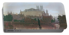 The Houses Of Parliament Portable Battery Charger by George Fennel Robson