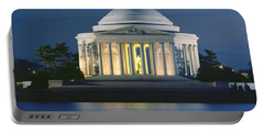The Jefferson Memorial Portable Battery Charger by Peter Newark American Pictures