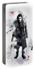 The Joker Portable Battery Charger by Marlene Watson