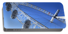 The London Eye, Close-up Portable Battery Charger by Simon Kayne