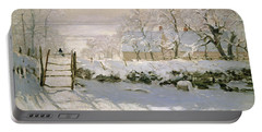 The Magpie Portable Battery Charger by Claude Monet
