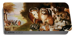 The Peaceable Kingdom Portable Battery Charger by Edward Hicks