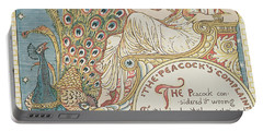 The Peacocks Complaint Portable Battery Charger by English School