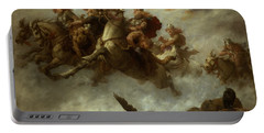 The Ride Of The Valkyries  Portable Battery Charger by William T Maud