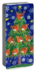 The Robins Chorus Portable Battery Charger by Cathy Baxter