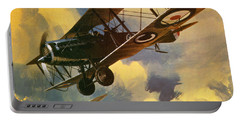 The Royal Flying Corps Portable Battery Charger by Wilf Hardy