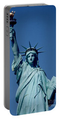 The Statue Of Liberty Portable Battery Charger by American School