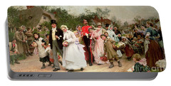 The Village Wedding Portable Battery Charger by Sir Samuel Luke Fildes