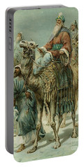 The Wise Men Seeking Jesus Portable Battery Charger by Ambrose Dudley