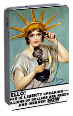 This Is Liberty Speaking - Ww1 Portable Battery Charger by War Is Hell Store