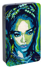 This Is What You Came For Portable Battery Charger by Tanya Filichkin