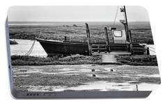 Thornham Harbour, North Norfolk Portable Battery Charger by John Edwards