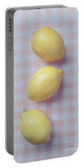 Three Lemons Portable Battery Charger by Edward Fielding