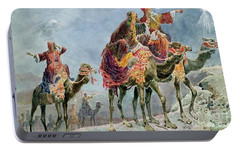 Three Wise Men Portable Battery Charger by Sydney Goodwin