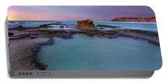 Tidepool Dawn Portable Battery Charger by Mike  Dawson