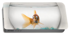 Tiger Fish Portable Battery Charger by Juli Scalzi