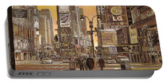 Times Square Portable Battery Charger by Guido Borelli