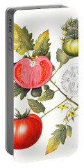 Tomatoes Portable Battery Charger by Margaret Ann Eden
