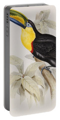 Toucan Portable Battery Charger by John Gould