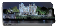 Tower Of London Portable Battery Charger by Joana Kruse