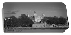 Tower Of London Riverside Portable Battery Charger by Gary Eason