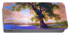 Tree Of Tranquillity Portable Battery Charger by Jane Small