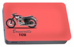 Triumph Bonneville T120 1968 Portable Battery Charger by Mark Rogan