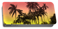 Tropical 9 Portable Battery Charger by Mark Ashkenazi