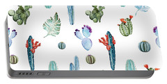 Tropical Forever 2 Portable Battery Charger by Mark Ashkenazi