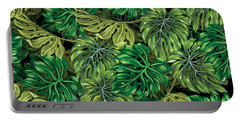 Tropical Haven 2 Portable Battery Charger by Mark Ashkenazi