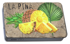 Tropical Palms 5 Portable Battery Charger by Debbie DeWitt