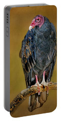 Turkey Vulture Portable Battery Charger by Nikolyn McDonald