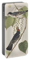 Tyrant Fly Catcher Portable Battery Charger by John James Audubon