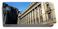 U S Custom House 1 Portable Battery Charger by Randall Weidner