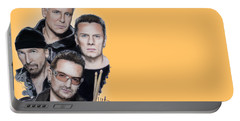U2 Portable Battery Charger by Melanie D